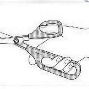 Long Loop Self Opening Scissor
