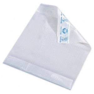 Disposable Bibs White - 12 packs of 50