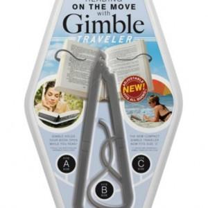 Gimble Traveller Book Holder - Grey