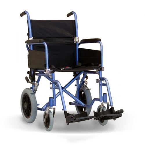 Aktiv X1 Basic Attendant Propelled Steel Wheelchair
